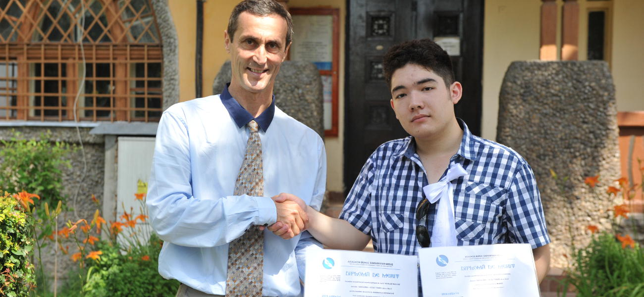 Merit scholarships - Adrian Ciorna and Tamio Vesa Nakajima