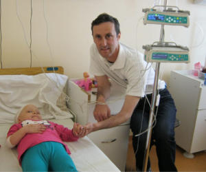 andreea and adrian ciorna in hospital